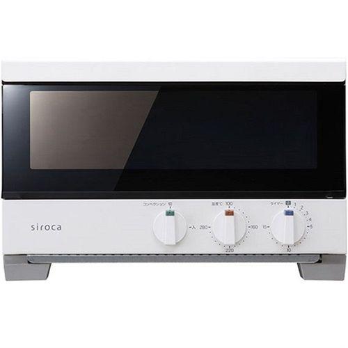 プレミアムオーブントースター すばやき ホワイト siroca ST-2A251