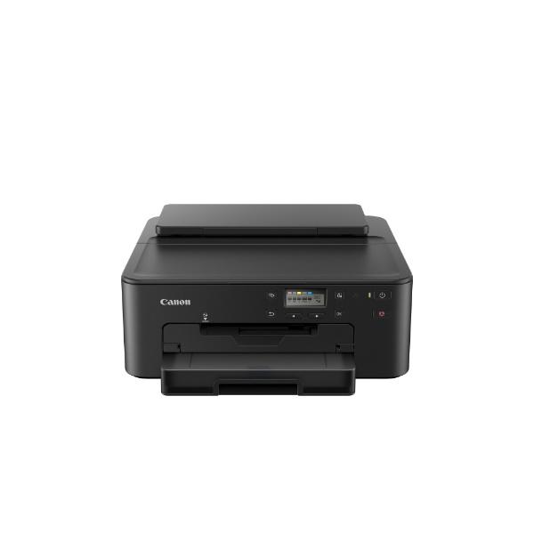 インクジェットプリンター カード/名刺?A4 ブラック キヤノン TR-703
