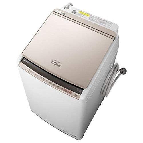 タテ型洗濯乾燥機 ビートウォッシュ 10kg シャンパン 日立 BW-DV100E