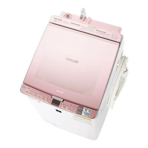 タテ型洗濯乾燥機 洗濯8Kg 乾燥4.5kg ピンク シャープ ES-PX8D
