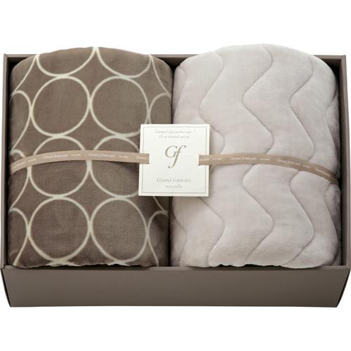 ハイソフトタッチマイヤー毛布&吸湿発熱綿入り敷パット L3196539
