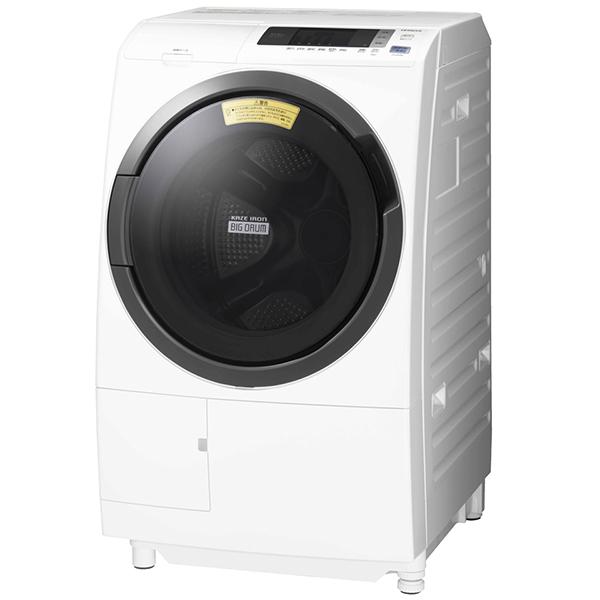 ドラム式洗濯乾燥機 10kg 左開き ビッグドラム ホワイト 日立 BD-SG100CL【配送設置対象商品】