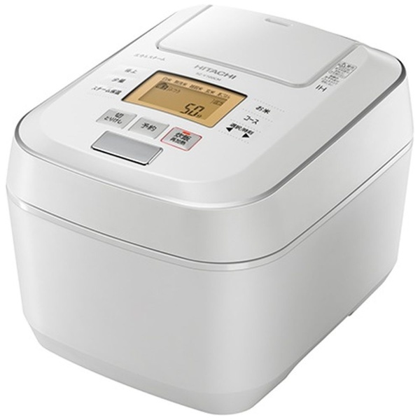 圧力スチームIHジャー炊飯器 5.5合炊き ふっくら御膳 圧力スチーム パールホワイト 日立 RZ-V100CM