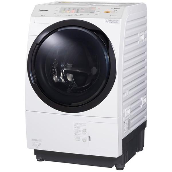 ドラム式洗濯乾燥機 10kg 左開き クリスタルホワイト パナソニック NA-VX3900L【配送設置対象商品】