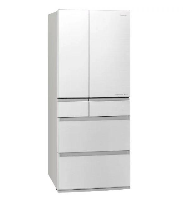 6ドア冷蔵庫 フロスト加工 550L フロスティロイヤルホワイト パナソニック NR-F555WPX【配送設置対象商品】