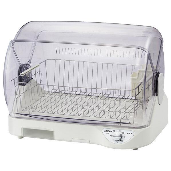 世界の人気ブランド あす楽 高温熱風とAg抗菌加工フィルターで清潔な庫内の食器乾燥器 送料無料 一部地域を除く 食器乾燥機 サラピッカ 営業 タイガー Ag抗菌 ホワイト DHG-T400