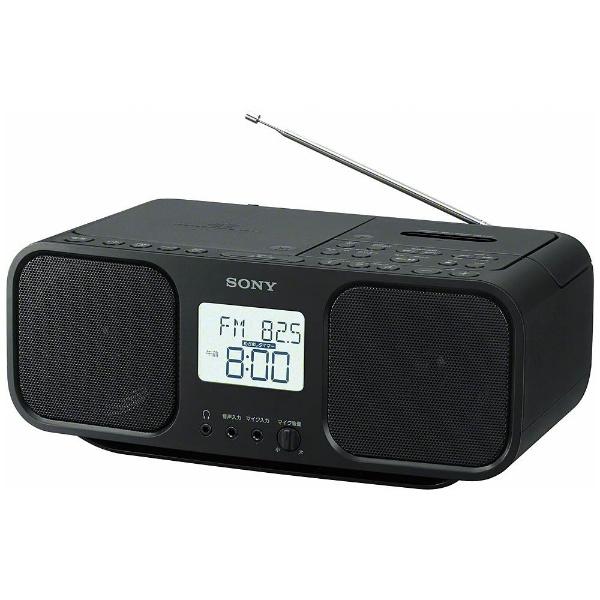 CDラジオカセットレコーダー ブラック ソニー CFD-S401