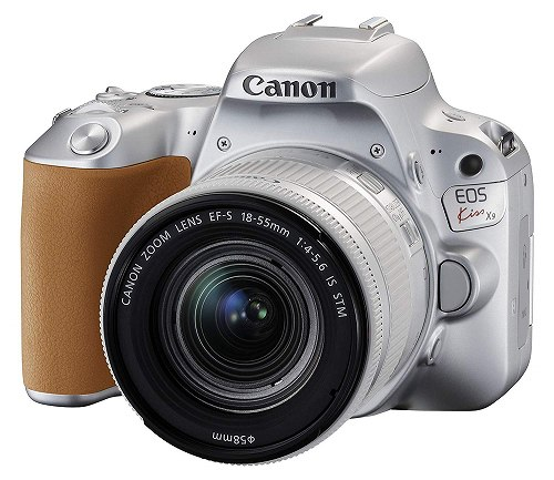 父の日 ギフト プレゼント 送料無料(沖縄・離島を除く) Canon デジタル一眼レフカメラ EOS Kiss X9 EF-S18-55 IS STM レンズキット シルバー