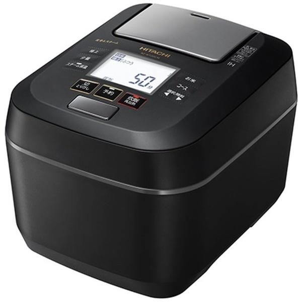 IHジャー炊飯器 圧力&スチーム ふっくら御膳 5.5合炊き フロストブラック 日立 RZ-W100CM