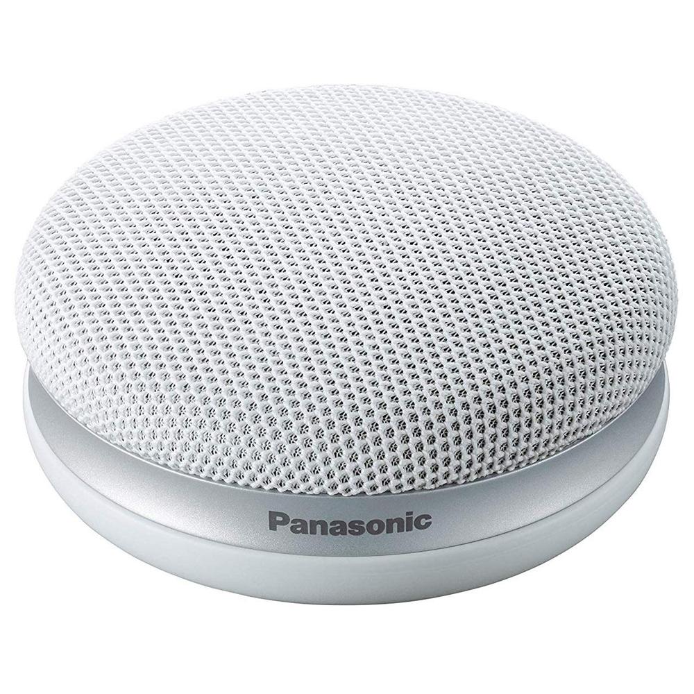 Panasonic パナソニック ポータブルワイヤレススピーカー 「快聴音」機能 かんたん設置 コンパクトサイズ (ホワイト) SC-MC30-W