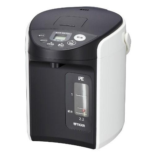 電気ポット VE電気まほうびん とく子さん ホワイト タイガー PIQ-A220