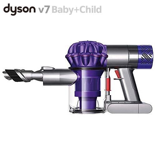 車内掃除 育児に活躍 コードレス ダイソン ハンディクリーナー V6 ベイビー&チャイルド HH08DCBC