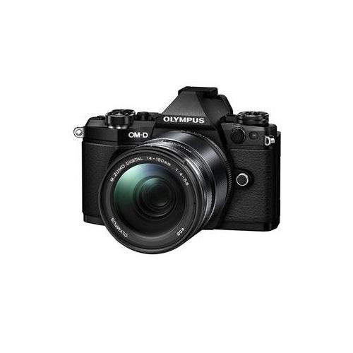 OLYMPUS デジタル一眼カメラ OM-D E-M5 Mark II 14-150mm II レンズキット (ブラック) OM-D-E-M5MK2-L14150K