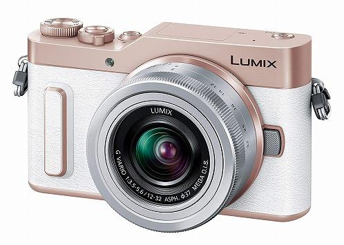 新品 Panasonic ミラーレス一眼カメラ ルミックス ダブルレンズキット ホワイト DC-GF90W-W