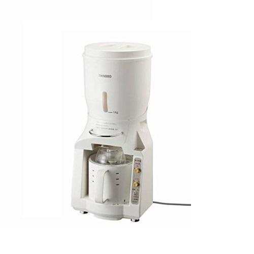 ツインバード 米びつ付精米器 精米御膳 ホワイト MR-E800W