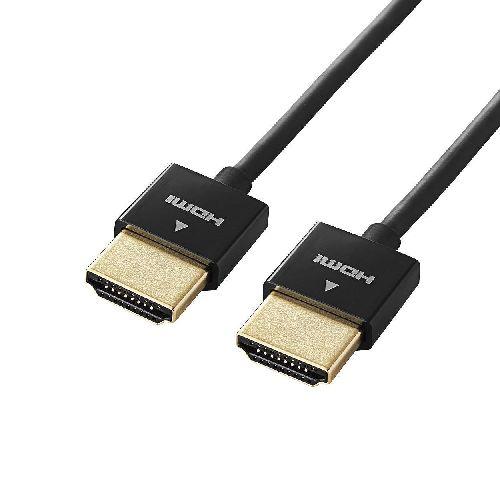 5個セット エレコム イーサネット対応スーパースリムHDMIケーブル(A-A) DH-HD14SS15BKX5