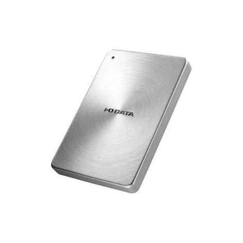 IOデータ USB 3.0/2.0対応 ポータブルハードディスク「カクうす」 2.0TB シルバー HDPX-UTA2.0S