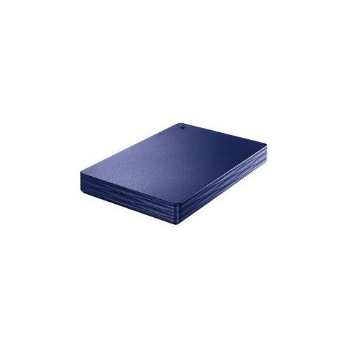 IOデータ 外付けHDD カクうす Lite ミレニアム群青 ポータブル型 1TB HDPH-UT1NVR