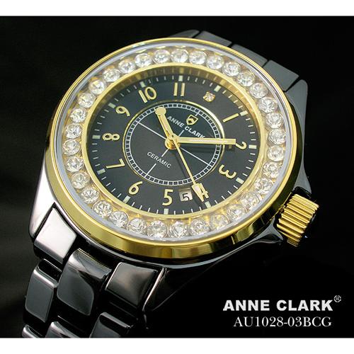 ANNE CLARK フルセラミック レディースウォッチ AU1028.03BCG