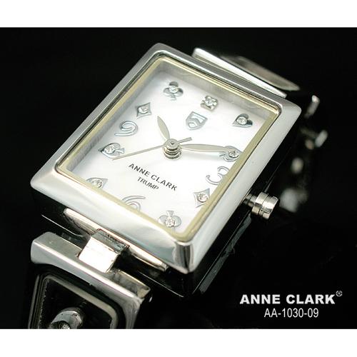 ANNE CLARK ムービングトランプチャームブレス レディースウォッチ AA1030-09