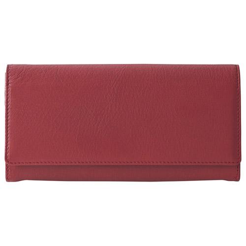 ディアスキン レディース長財布 レッド