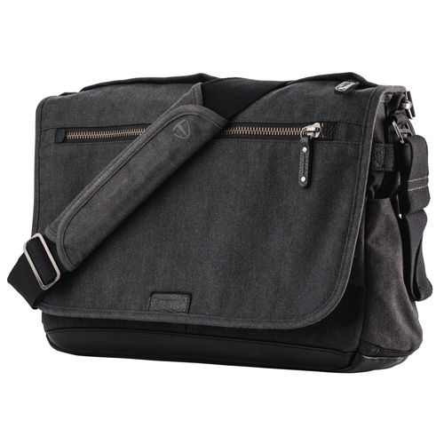 TENBA Cooper 15 Slim Camera Bag Grey Canvas V637-406