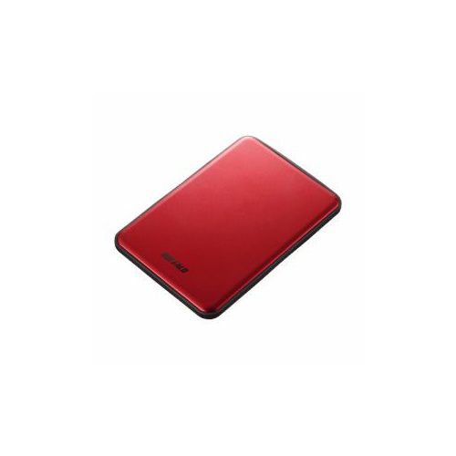 BUFFALO USB3.1(Gen1)/USB3.1 ポータブルHDD 1TB レッド HD-PUS1.0U3-RDD