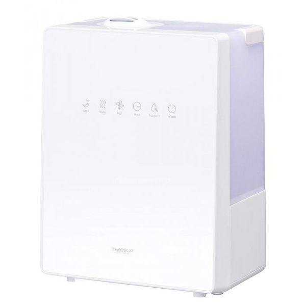 ハイブリッド加湿器 スクエアミスト 5.2L 11畳 ホワイト スリーアップ HB-T1825