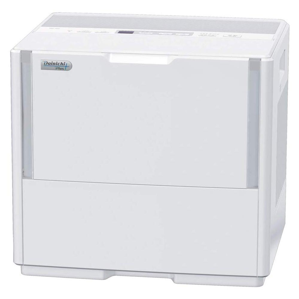 加湿器 大容量 ハイブリッド式加湿器 (温風気化式/気化式) 抗菌 木造25畳 プレハブ42畳 ホワイト ダイニチ HD-153