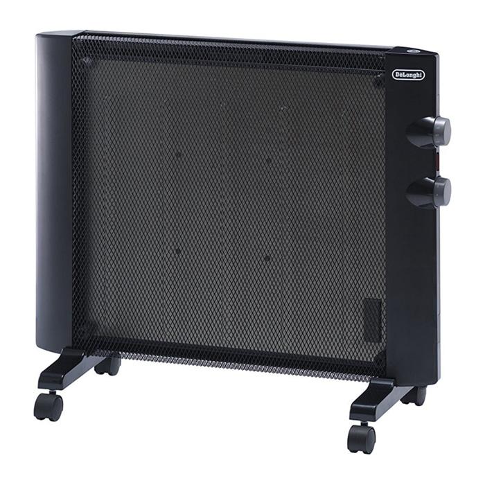 マイカパネルヒーター 2~6畳 ブラック デロンギ 900W HMP900J-B