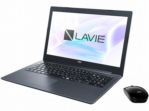 NEC LAVIE Direct PC-GN11FJRZDCHDD2TCDA (Windows10Home/CeleronN4000/15.6インチ/4GB/500GB/Office2019H&B) ノートパソコン ブラック