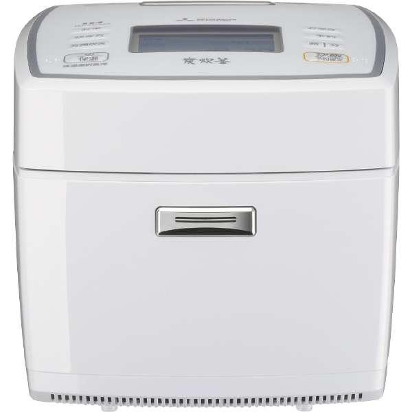 IH炊飯器 5.5合炊き 備長炭 炭炊釜 ピュアホワイト 三菱 NJ-VEA10