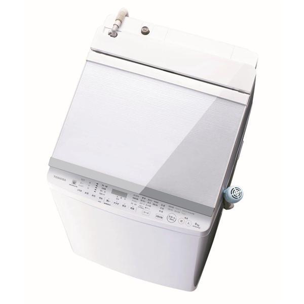 洗濯機 グランホワイト 洗濯/乾燥容量:9.0/5.0kg 東芝 AW-9SV8