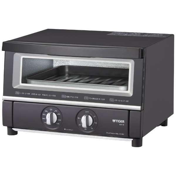 コンベクションオーブン&トースター やきたて 断熱Wガラス 熱風コンベクション 黒遠赤ヒーター マットブラック タイガー KAT-B130