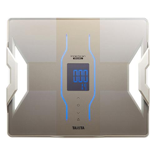 体重計 デュアルタイプ体組成計 インナースキャンデュアル グレイッシュゴールド タニタ RD907