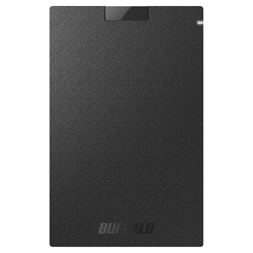 転送速度の速いSSDでデータアクセスも快適 持ち運びでも大切なデータを守る 外付けSSD USB3.1 売れ筋 Gen1 ブラック ポータブルSSD SSD-PG960U3-BA 960GB 人気商品 バッファロー
