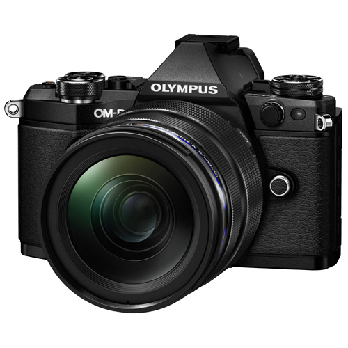 オリンパスデジタル一眼レフカメラOM-D-E5Mark212-40mmレンズキットブラック色