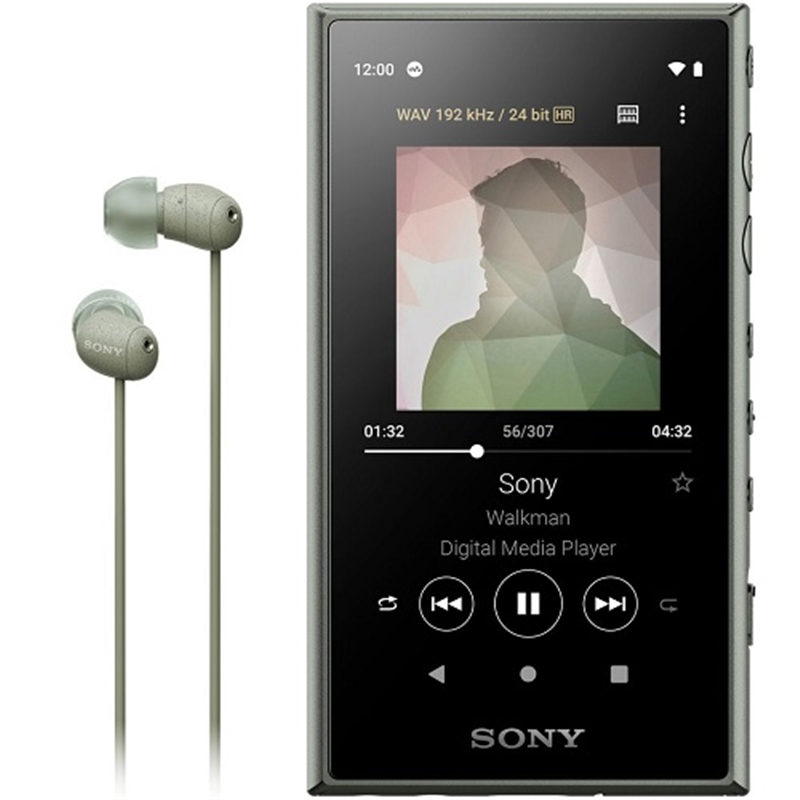 16GB ウォークマンA100 ハイレゾ アッシュグリーン ソニー NW-A105HN