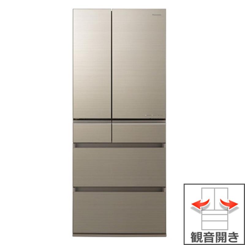 ファッション 6ドア パナソニック アルベロゴールド 650L 冷蔵庫 NR-F655HPX-キッチン家電