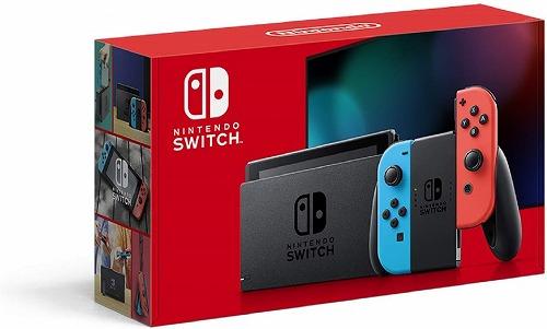 NintendoSwitchJOY-CON(L)ネオンブルー/(R)ネオンレッド新品