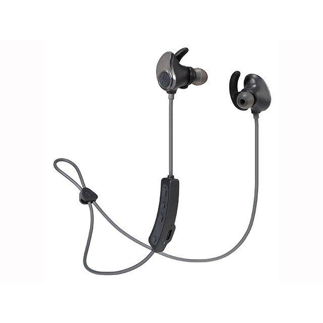 Bluetoothワイヤレスイヤホン ガンメタルブラック テクニカ ATH-SPORT90BT