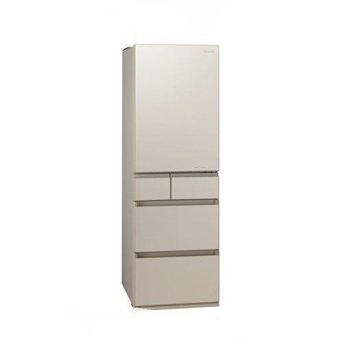 冷蔵庫 サテンゴールド 5ドア 左開きタイプ 450L パナソニック NR-E455PXL