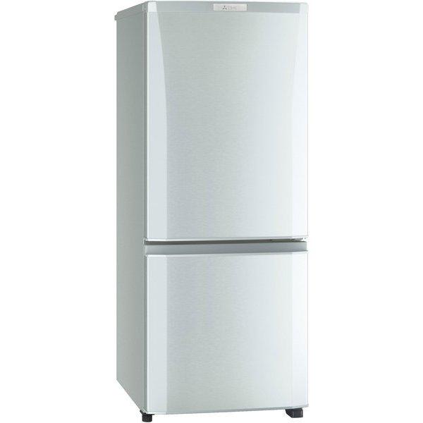 冷蔵庫 サファイアブラック 2ドア 右開きタイプ 146L 三菱 MR-P15E