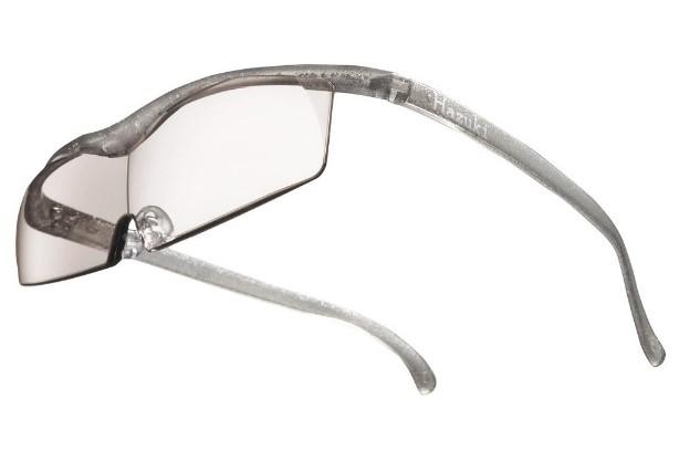 メガネ型拡大鏡 ハズキルーペ コンパクト カラーレンズ 1.32倍 チタンカラー Hazuki Company