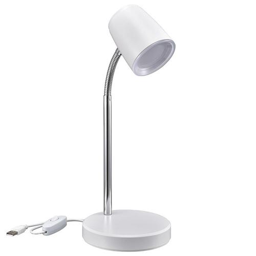 デスク周りや ベッドサイドにおすすめです LEDデスクランプ オーム USB電源式 WEB限定 DS-LS06USB 人気ブランド