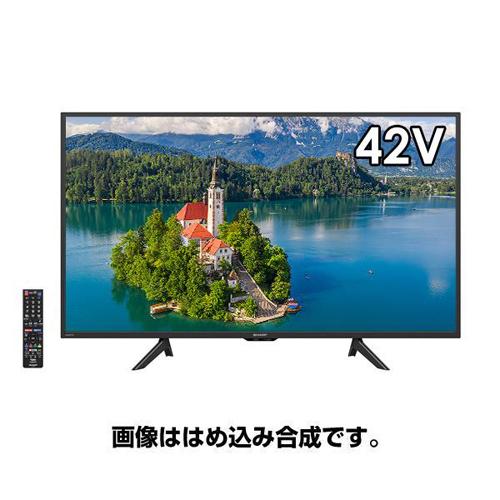 液晶テレビ AQUOS 42V型 フルハイビジョン シャープ 2T-C42BE1