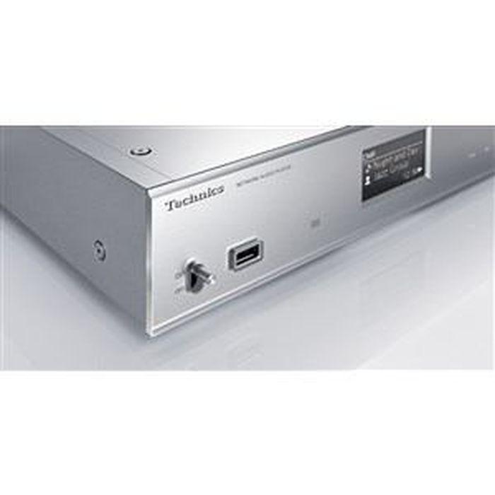 ネットワークオーディオプレーヤー シルバー Technics ST-C700