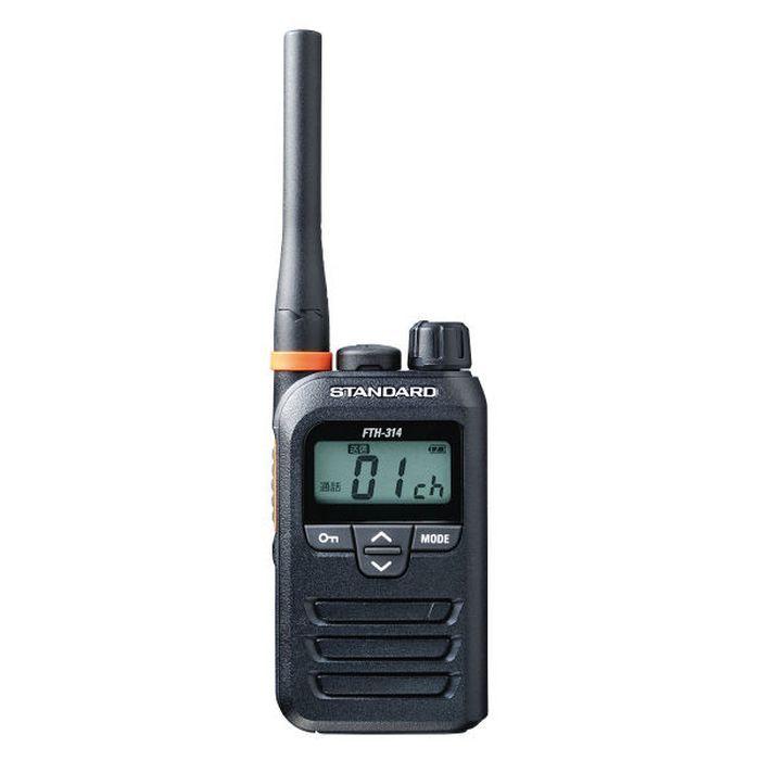 スタンダード 特定小電力トランシーバー ブラック 八重洲無線 FTH-314