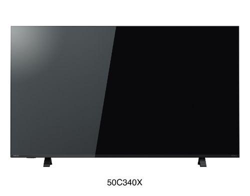 液晶テレビ REGZA 50V型 C340Xシリーズ 4K対応/4Kチューナー内蔵 東芝 50C340X