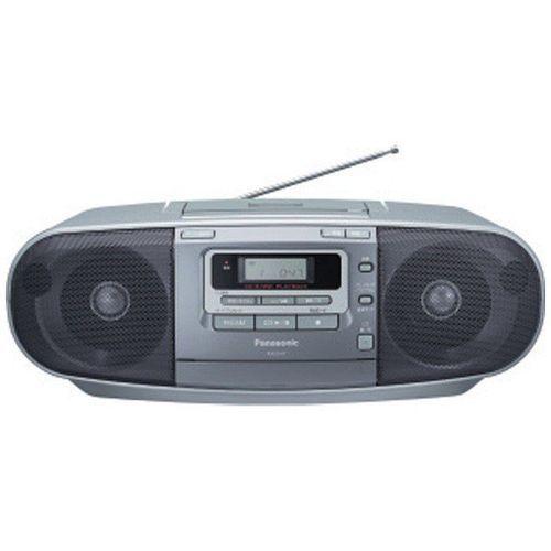 CDラジカセ ラジオ/CD/カセットテープ ワイドFM対応 パナソニック RX-D47